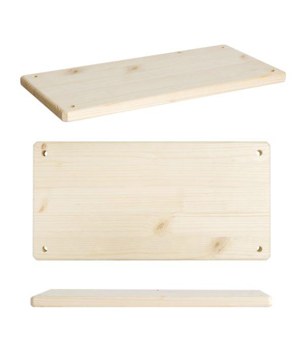 Ripiani in legno per mobili e scaffali fai-da-te | Kompo Tondo