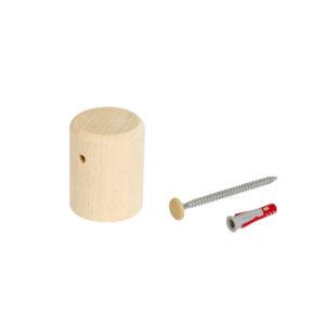 Fissaggio a muro per mobili e scaffali | Kompo Tondo