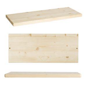 Ripiani per scaffale fai-da-te in legno robusto e resistente | Kompo Kube