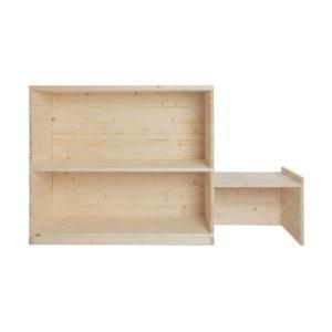 Composizione bancone fai-da-te in legno naturale | Kompo Kube | Soluzione Kompo