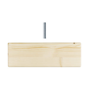 Montanti per scaffale fai-da-te in legno robusto e resistente | Kompo Kube