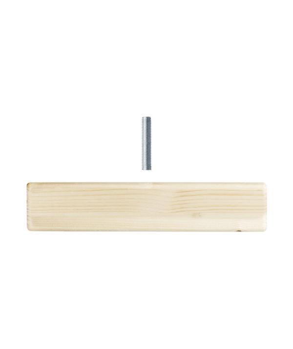 Piedi per scaffale fai-da-te in legno robusto e resistente | Kompo Kube