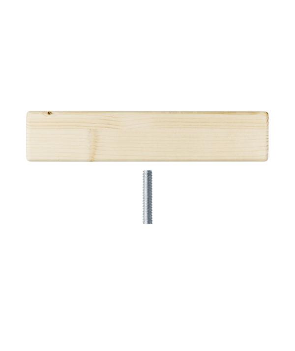 Terminali per scaffale fai-da-te in legno robusto e resistente | Kompo Kube