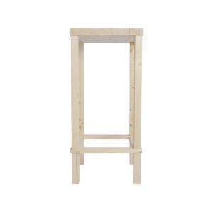 Composizione tavolino fai-da-te in legno naturale | Kompo Quadro | Soluzione Kompo