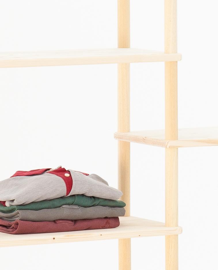 Composizioni di arredo personalizzabili in legno | Kompo Tondo