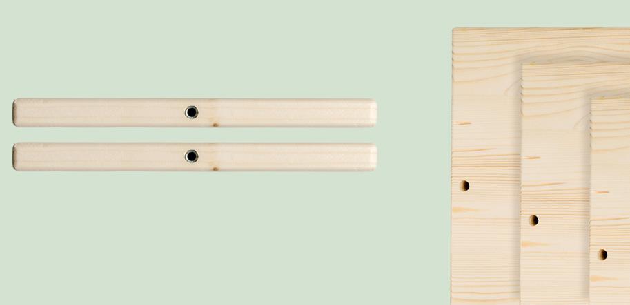 Scaffale in legno fai-da-te dal design cubico | Kompo Kube