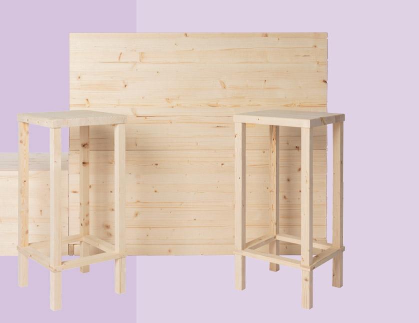 Ispirazioni di composizioni in legno con sistema modulare | Kompo Kuadro