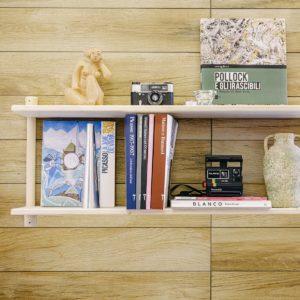 Composizione mensola fai-da-te in legno   Kompo Tondo   Soluzione Kompo