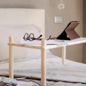 Composizione tavolino fai-da-te in legno | Kompo Tondo | Soluzione Kompo